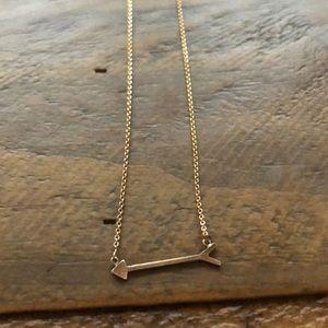 Stella & Dot On the Mark Arrow Necklace